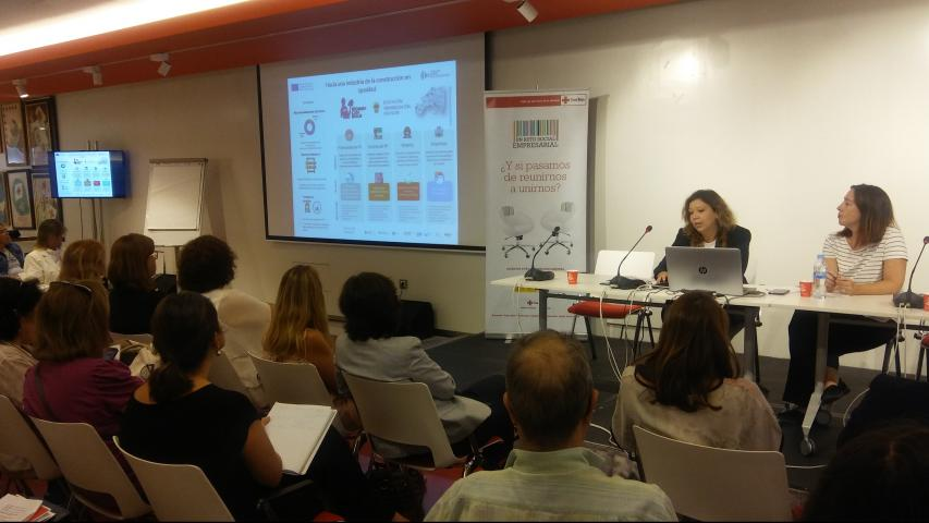 Presentación de Women can Build, por Beatriz Oliete.